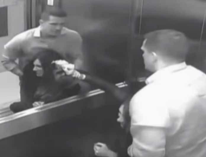 Ασύλληπτο βίντεο: Προσπαθεί να ξεφύγει από τον άντρα της που είναι και ο δολοφόνος της!