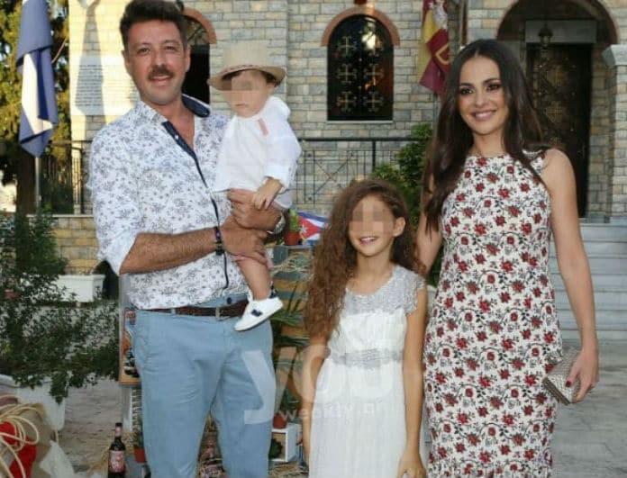 Δαλιάνη- Παπαγιάννης: Βάφτισαν τον γιο τους! Οι πρώτες φωτογραφίες από το μυστήριο!
