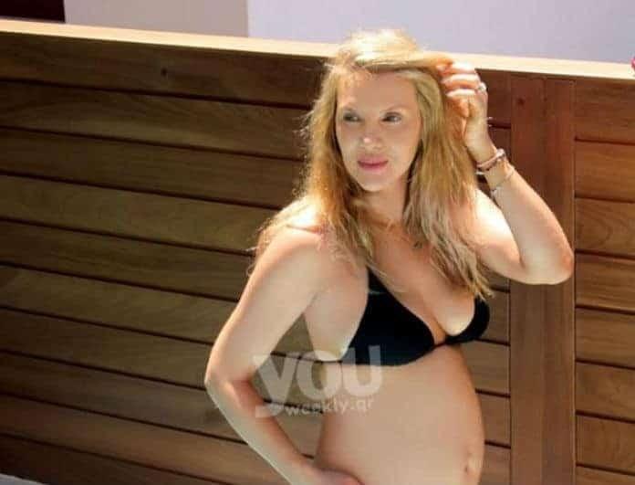Χριστίνα Αλούπη: Δείτε με ποιο πρωτότυπο τρόπο αποκάλυψε στον άντρα της πως είναι έγκυος! (βίντεο)