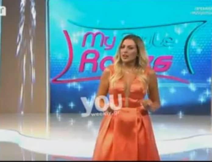 Μy Style Rocks: Πρεμιέρα για την εκπομπή της Σπυροπούλου! Τι φόρεσε η παρουσιάστρια;