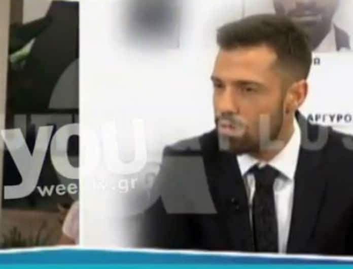 Κωνσταντίνος Αργυρός: Απαντά δημόσια για το χωρισμό του με την Ηλιάνα Παπαγεωργίου! (βίντεο)