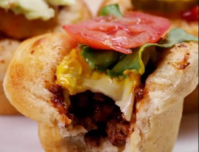 Το Burger φούρνου που δε χρειάζεται ψωμάκι (βίντεο)