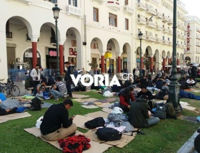 Απίστευτο περιστατικό στην Θεσσαλονίκη: Μετανάστες ζητούν την σύλληψή τους!