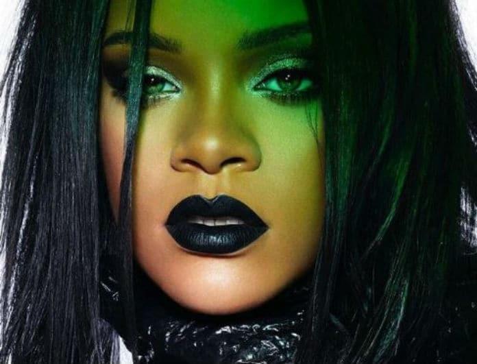 Φοβάστε το μαύρο κραγιόν; Η Rihanna θα σας κάνει να αλλάξετε γνώμη!