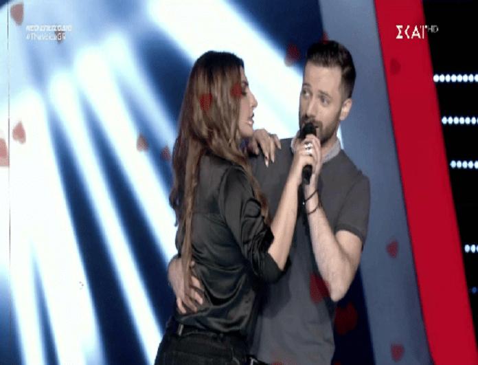 The Voice: Ο Κύπριος που μάγεψε την Έλενα Παπαρίζου! - Ο χορός της με τον παίκτη και οι... ζήλιες του Ρουβά! (Βίντεο)