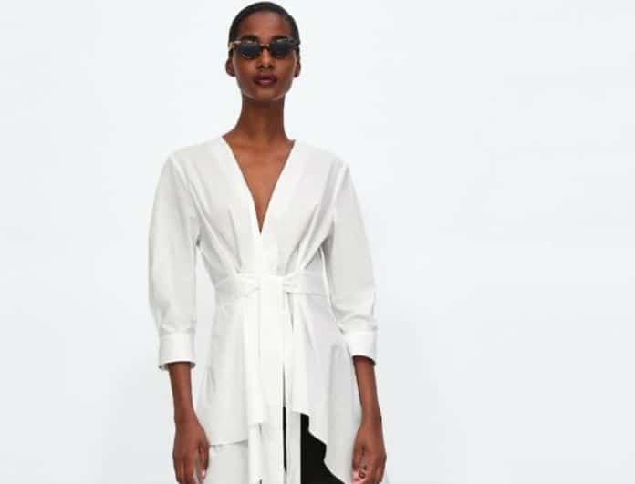 37cbbb748d61 50 Γυναικεία πουκάμισα Zara που θα φορέσουμε όλες! (Νέα collection) -  COLLECTIONS - Youweekly