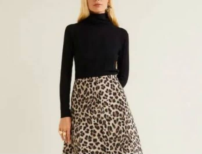 369e4d99247 4 λεοπάρ midi φούστες που θα αναδείξουν την σιλουέτα σου με λιγότερα από 40  ευρώ!