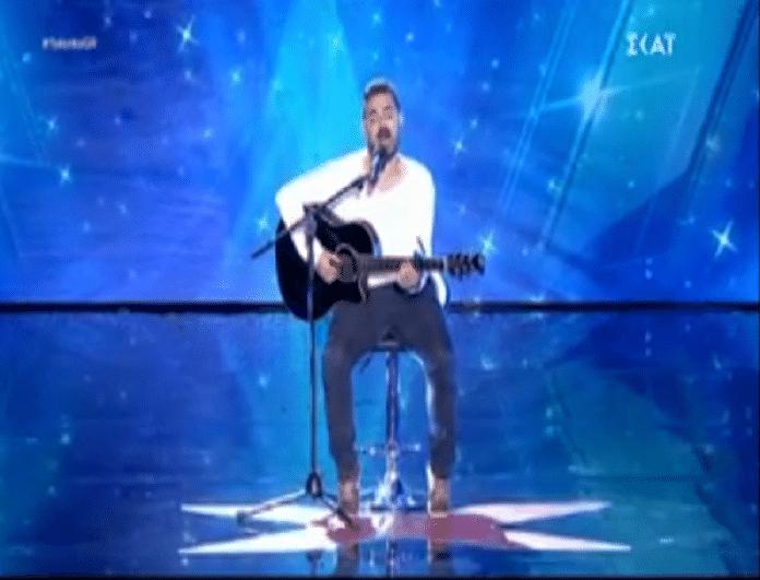 Ελλάδα έχεις ταλέντο: Συγκίνησε τους κριτές και τους θύμισε τον... Παντελίδη (video)