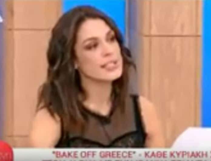 Ιωάννα Τριανταφυλλίδου: Τι είπε για το Bake off και τα... κιλά που πήρε! (Βίντεο)