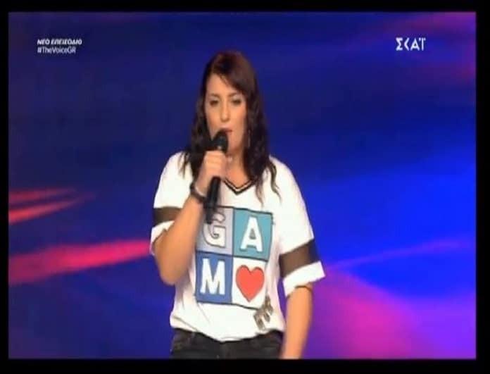 The Voice Of Greece: Την έσωσε στο παρα πέντε η Παπαρίζου!