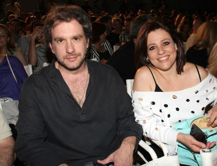 Αλέξανδρος Σταύρου & Μαριάννα Τουμασάτου: Το ερωτευμένο ζευγάρι σε σπάνια δημόσια έξοδο!