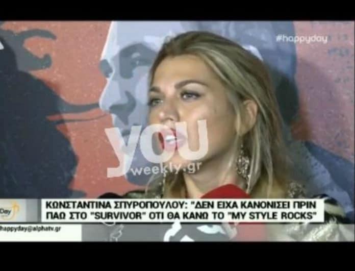 Κωνσταντίνα Σπυροπούλου: Η ξινίλα της σε ερώτηση δημοσιογράφου και το ύφος... χιλίων καρδιναλίων! (Βίντεο)