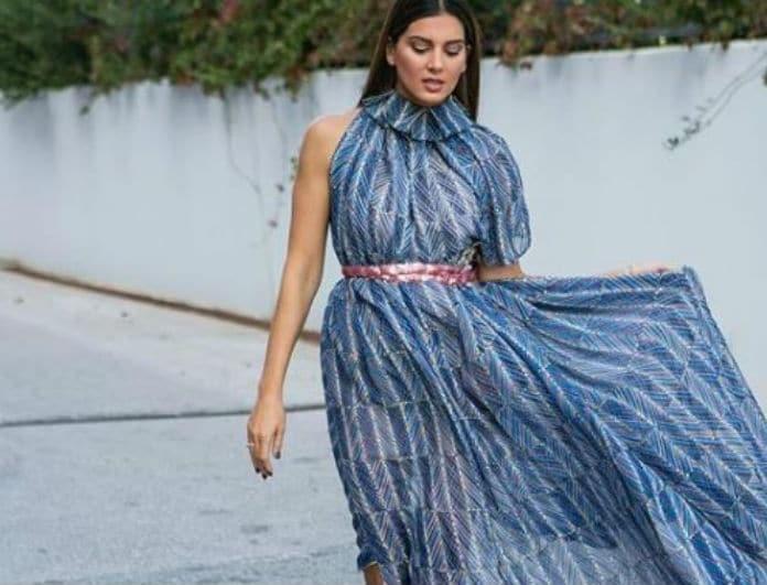 9dc2b210d59f Σταματίνα Τσιμτσιλή: Αν γίνεσαι νονά ή κουμπάρα πρέπει να αποκτήσεις το  φόρεμα της!