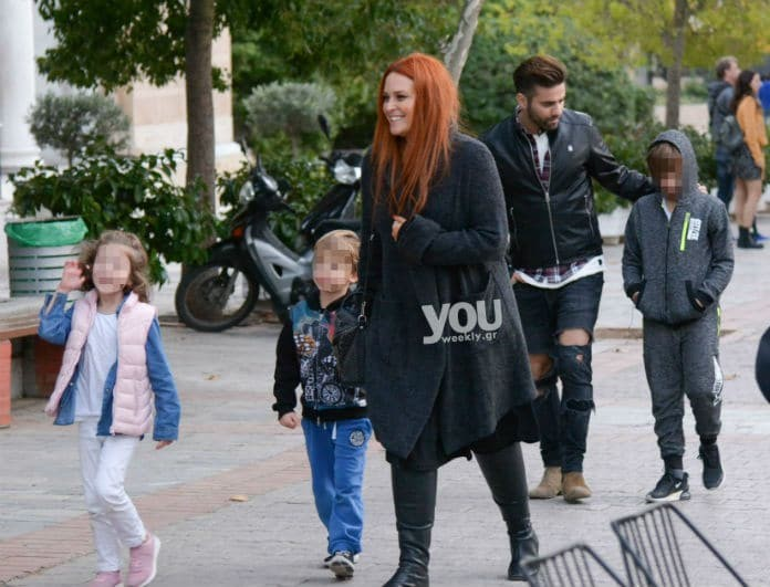 Χρηστίδου - Μαραντίνης: Τρυφερές οικογενειακές στιγμές σε έξοδο στα Βόρεια Προάστια!