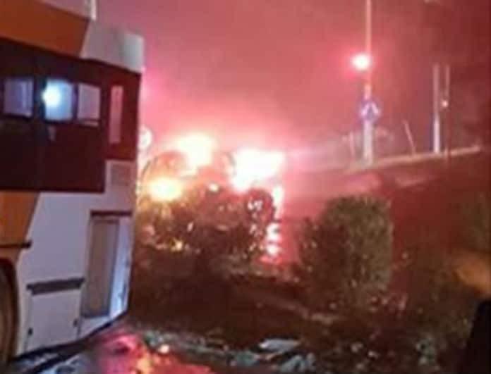 Απίστευτο περιστατικό στη Θεσσαλονίκη! Λεωφορείο