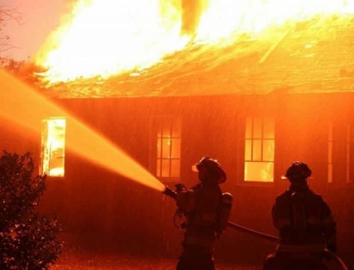 Θεσσαλονίκη: Φωτιά σε μονοκατοικία-Σοβαρός τραυματισμός!