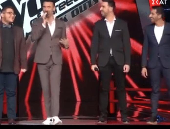 The Voice: Έπεσαν κάτω οι κριτές με την ατάκα του Καπουτζίδη! Δεν φαντάζεστε τι είπε! (Βίντεο)
