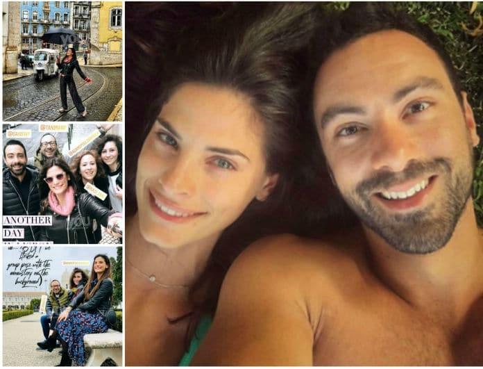 Σάκης Τανιμανίδης - Χριστίνα Μπόμπα: Οικογενειακή απόδραση στην Πορτογαλία!