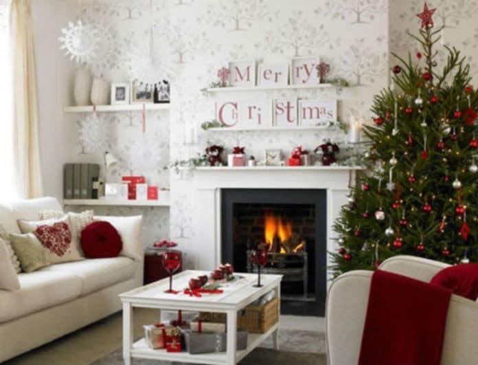 Χριστούγεννα 2018: Μεταμόρφωσε το σαλόνι σου έξυπνα και οικονομικά για τις γιορτές!