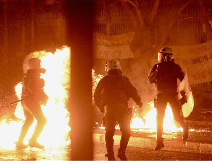 Πολυτεχνείο: Πεδίο μάχης με 19 συλλήψεις και σοβαρά επεισόδια!