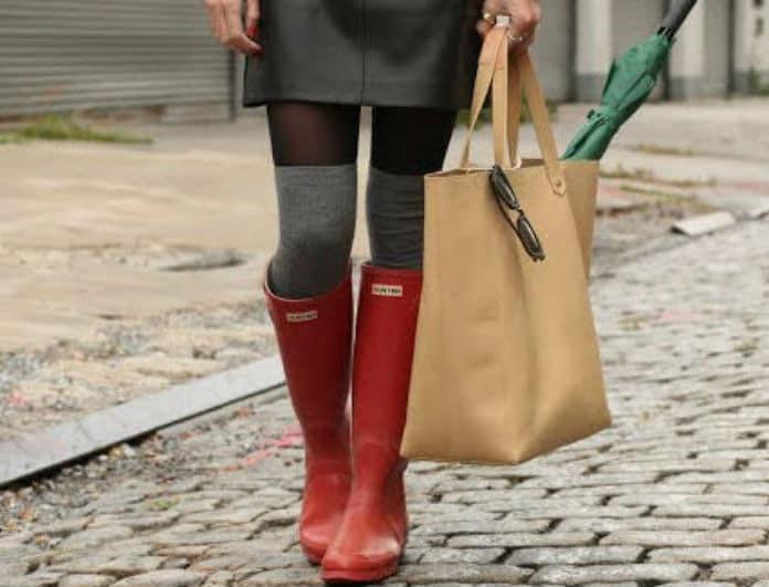 Και όμως οι πιο τέλειες μπότες για την βροχή δεν είναι μόνο οι γαλότσες! Μάθε ποιες άλλες είναι...