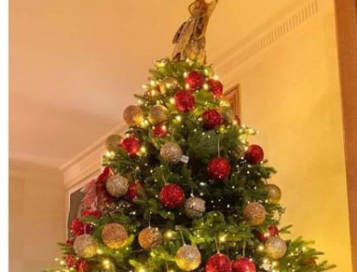Ήρθαν τα Χριστούγεννα για πασίγνωστη παρουσιάστρια! Ποια στόλισε το δέντρο υπερπαραγωγή;