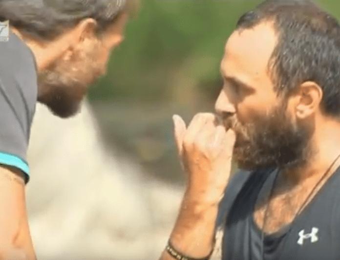 Nomads 2: Ο Αναγνωστόπουλος έσπασε το πλακάκι με το χέρι και τραυματίστηκε! (βίντεο)