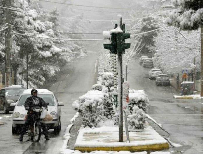ΕΜΥ: Νέο έκτακτο δελτίο καιρού! Έρχονται χιόνια!