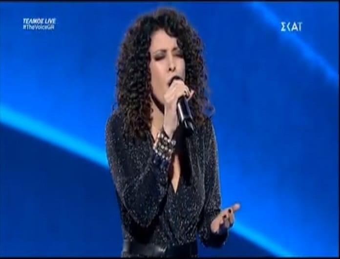 The Voice: Η εμφάνιση της Μαρίας Ιερωνυμάκη στον τελικό! (video)