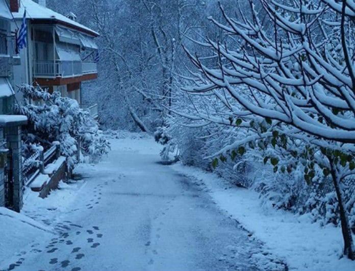 Καιρός: Ισχυρές βροχές για σήμερα Δευτέρα 31 Δεκεμβρίου! Που θα χιονίσει;