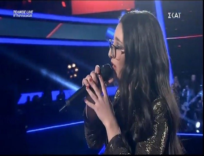 The Voice: Ενθουσίασε με την ερμηνεία της η Κλαυδία Παπαδοπούλου! (video)