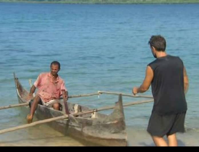 Nomads 2: Απίστευτος Χανταμπάκης! Τι ζήτησε από τον ντόπιο; (βίντεο)