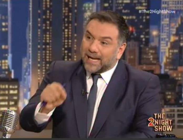 Γρηγόρης Αρναούτογλου: Παίρνει δημόσια θέση μετά τον κακό χαμό με τις δηλώσεις της Ιωάννας Μπέλλα στην εκπομπή του! (βίντεο)