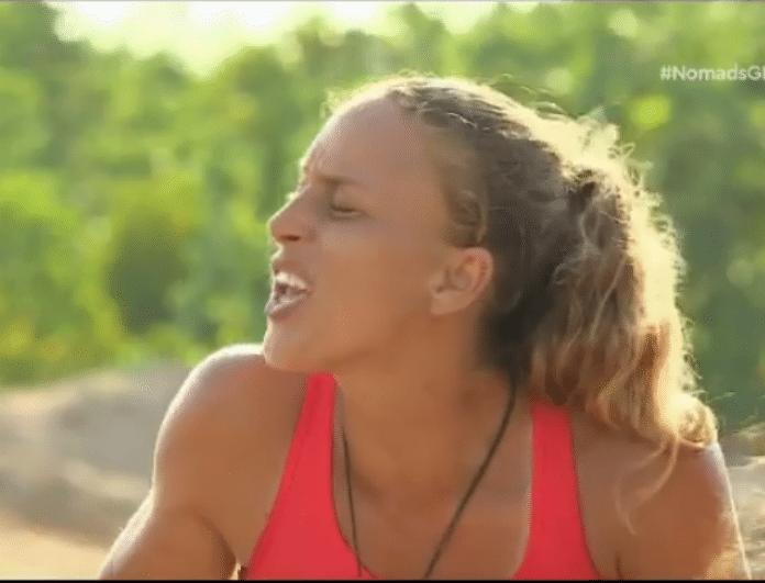 Nomads 2: Έξαλλη η Καμαρωτάκη με τον Μισθοφόρο! Τι συνέβη; (βίντεο)