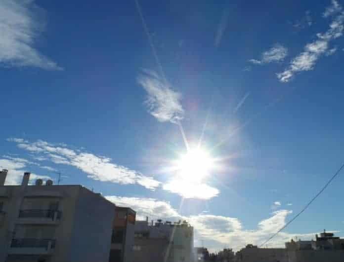 Καιρός: Με λιακάδα και άνοδο της θερμοκρασίας η Κυριακή!