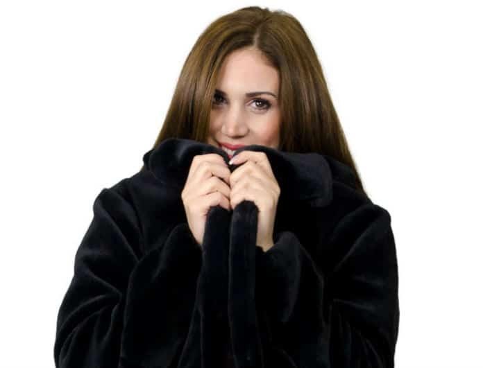 Είσαι μικροσκοπική; Αυτό είναι το κατάλληλο παλτό για εσένα!