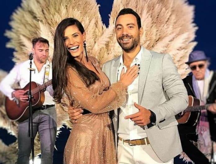 Σάκης Τανιμανίδης - Χριστίνα Μπόμπα: Ξεκίνησαν οι Χριστουγεννιάτικες διακοπές για το ζευγάρι!