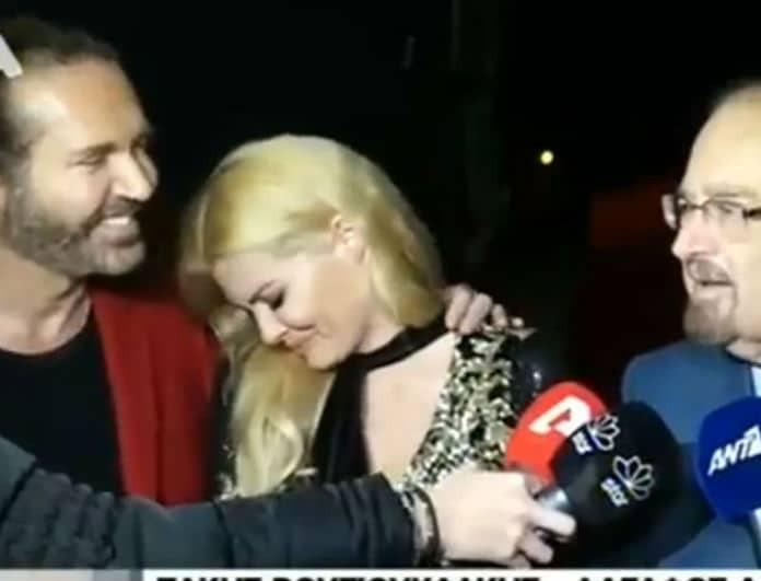 Απίστευτο σκηνικό με τη Κορινθίου! Η ατάκα του Βουγιουκλάκη που την έκανε να ξεσπάσει σε κλάματα! (Βίντεο)