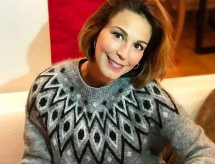 Κατερίνα Παπουτσάκη: Η εγκυμονούσα μας άνοιξε το σπίτι της! Δείτε το εντυπωσιακό σαλόνι του σπιτιού της!