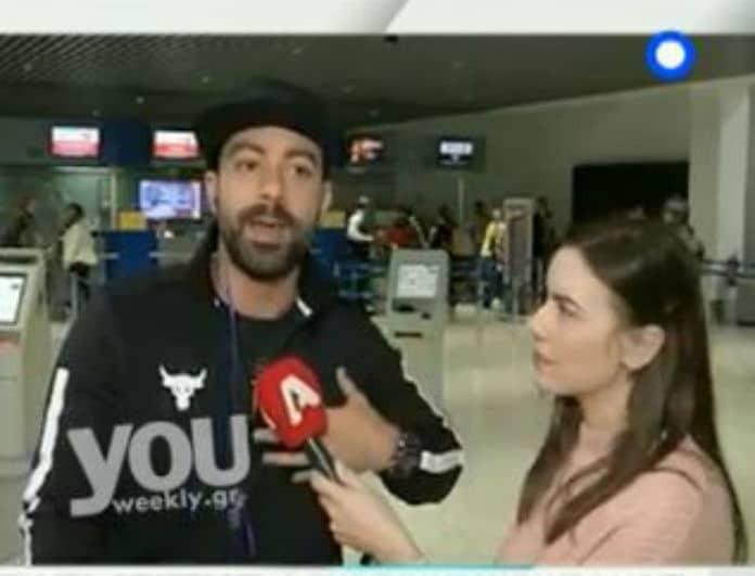 Σάκης Τανιμανίδης: Οι δηλώσεις του παρουσιαστή λίγο πριν αναχωρήσει για Άγιο Δομίνικο! (Βίντεο)