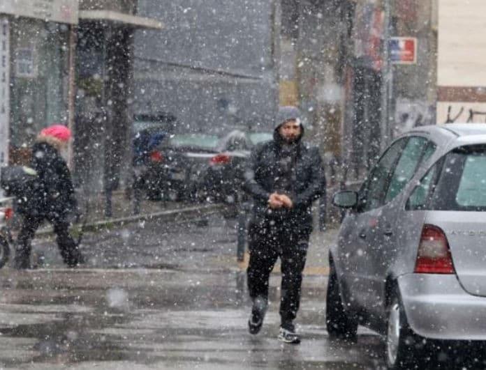 Έρχεται ο «Τηλέμαχος» από το απόγευμα! Πολικό κρύο, χιόνια και στην Αθήνα!