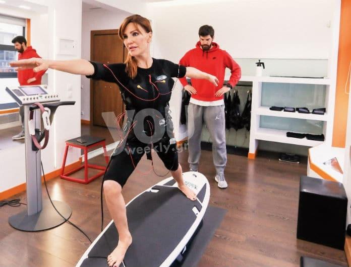 Ο personal trainer της Βίκυς Χατζηβασιλείου μας αποκαλύπτει τις ασκήσεις που ακολουθεί! Έτσι κρατάει την σιλουέτα της σε φόρμα!