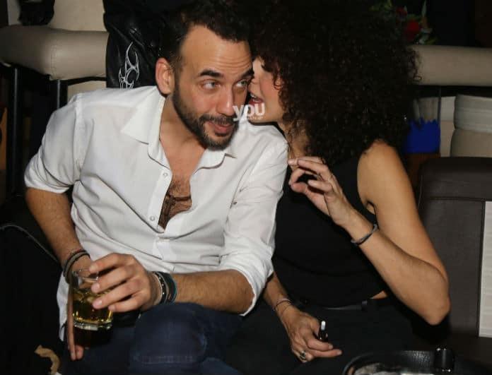 Πάνος Μουζουράκης - Μαρία Σολωμού: Πιο ερωτευμένοι από ποτέ σε βραδινή έξοδο! Αποκλειστικές φωτογραφίες...