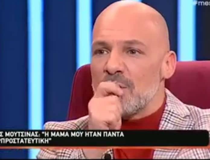 """Συγκλόνισε την Μελέτη ο Νίκος Μουτσινάς: «Όταν πέθανε η μητέρα μου, """"κρατήθηκα"""" από τη γιατρό μου»! (Βίντεο)"""