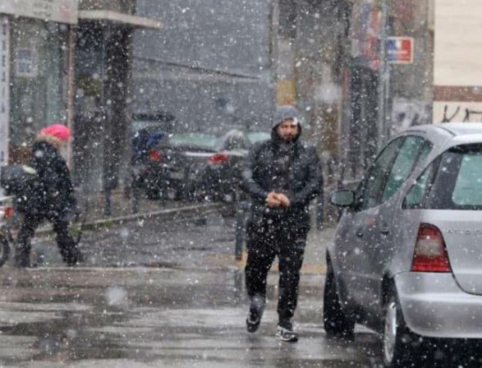 Καιρός: Χιονιάς σε όλη τη χώρα! Βελτίωση του καιρού σήμερα, σφοδρή επιδείνωση αύριο!