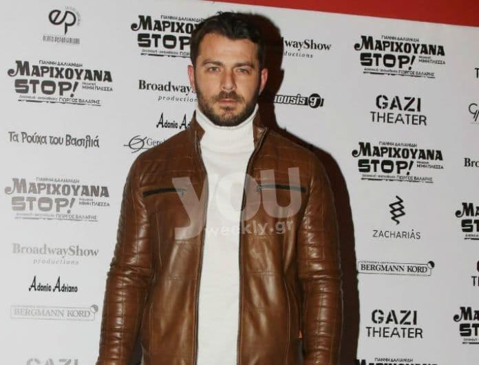 Γιώργος Αγγελόπουλος: Στο πλευρό της Ντορέττας Παπαδημητρίου! Η εμφάνισή του στην παράσταση