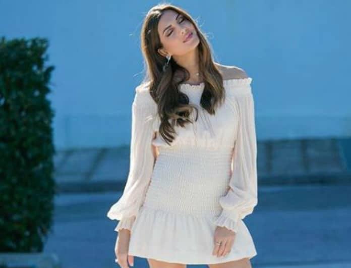 Σταματίνα Τσιμτσιλή: Το ρομαντικό look που πρέπει να αντιγράψεις!