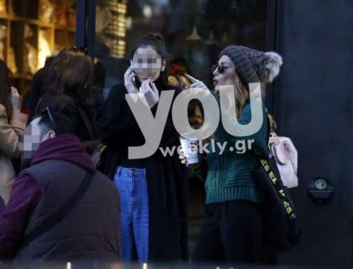 Δέσποινα Βανδή: Για ψώνια με την κόρη της Μελίνα! Έκλεισε τα 15 και πέρασε σε ύψος την μαμά της!