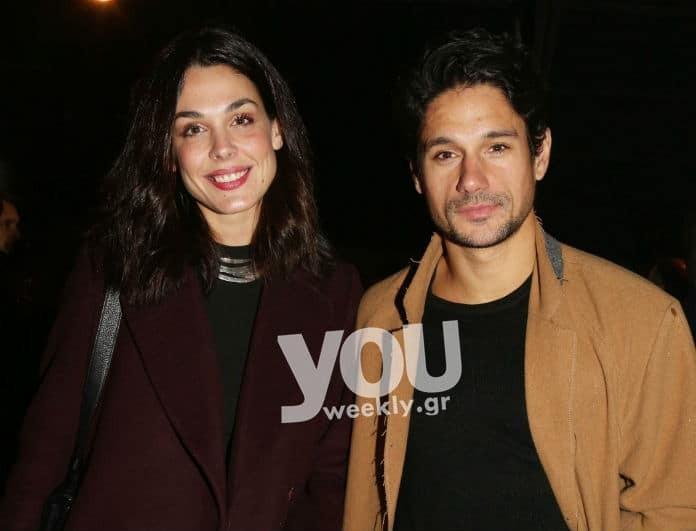 Ιωάννα Τριανταφυλλίδου - Πάνος Βλάχος: Paparazzi! Το αγαπημένο ζευγάρι σε νέα βραδινή έξοδο!