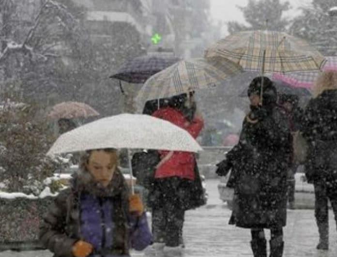 Καιρός: Βροχές, χιόνια και σκόνη σε όλη τη χώρα! Πού θα χτυπήσει ο «Φοίβος» σήμερα Σάββατο;